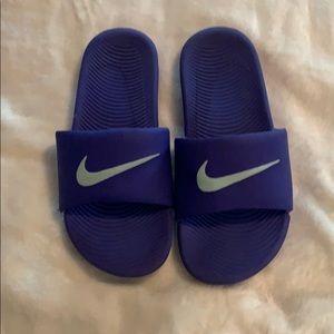 Nike ladies slides